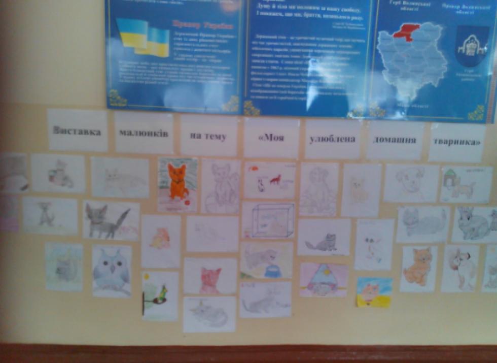 Тематичні малюнки учнів