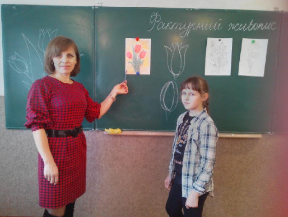 Олена Дейнека проводить майстер-клас