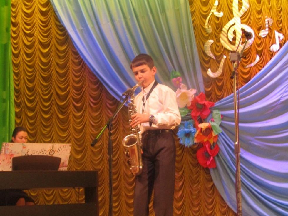 Гра на саксофоні