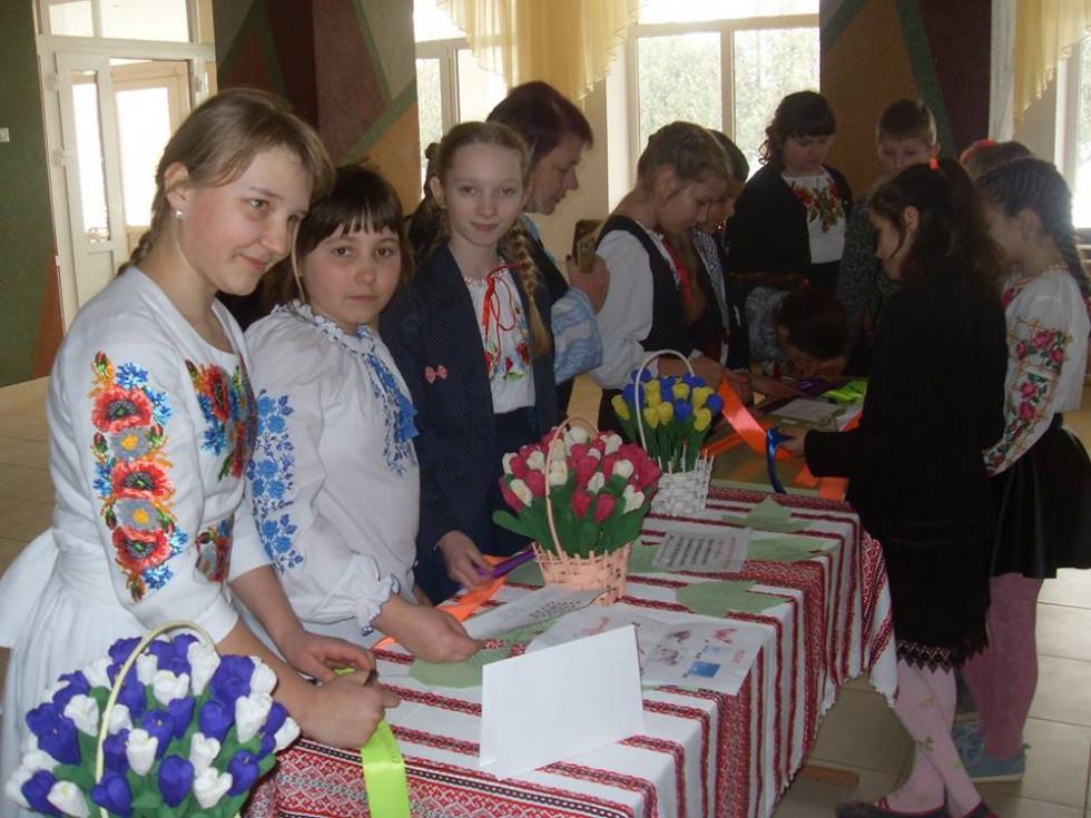 Презентація творчих проектів «Дивосвіт українського слова».