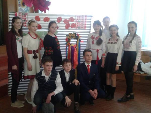 Учні ратнівської гімназії