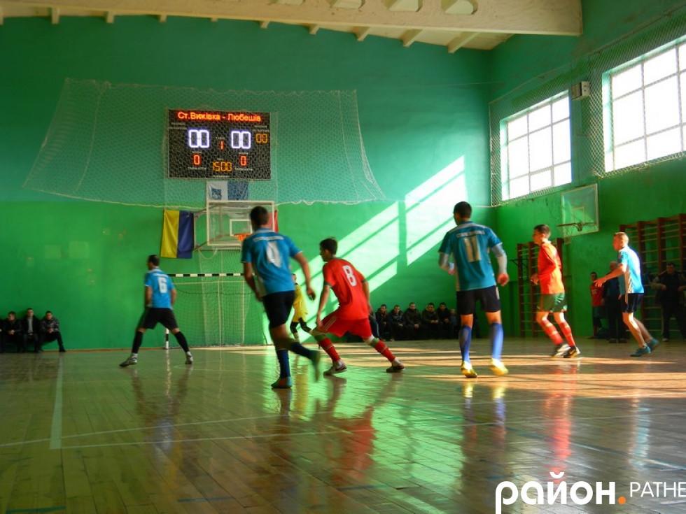Гра між командами Старої Вижівки та Любешова