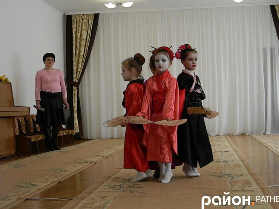 Танець «Західні гості»