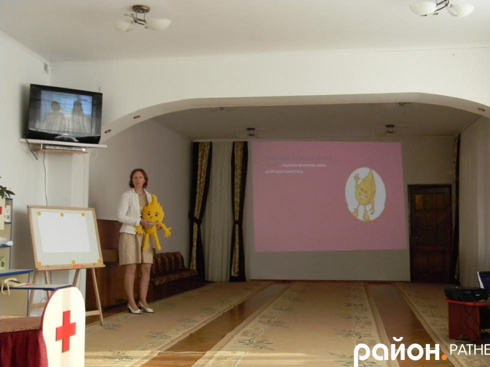 Людмила Сидорук презентує програму «Афлатот»