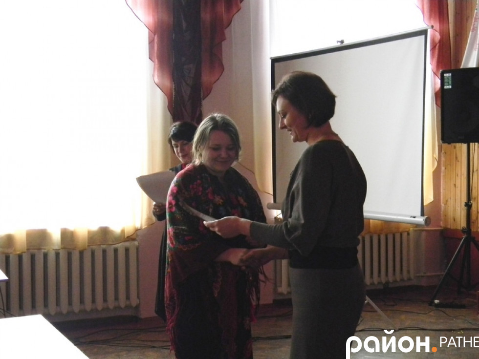 Нагородження призерки конкурсу
