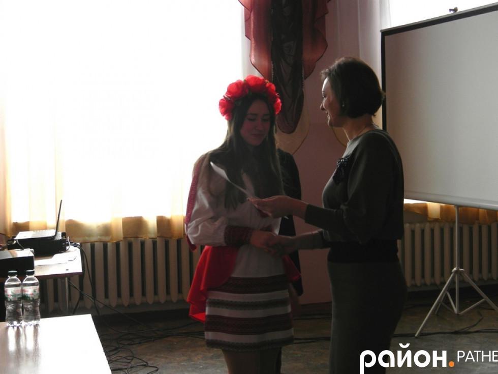 Нагородження Софії Савчук