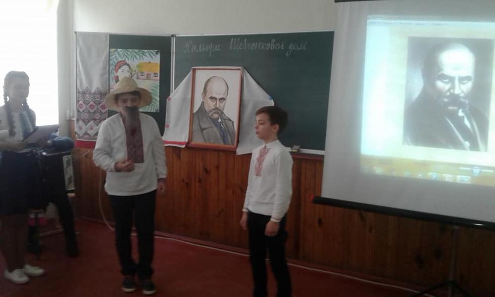 Розповідь одного із творів Шевченка