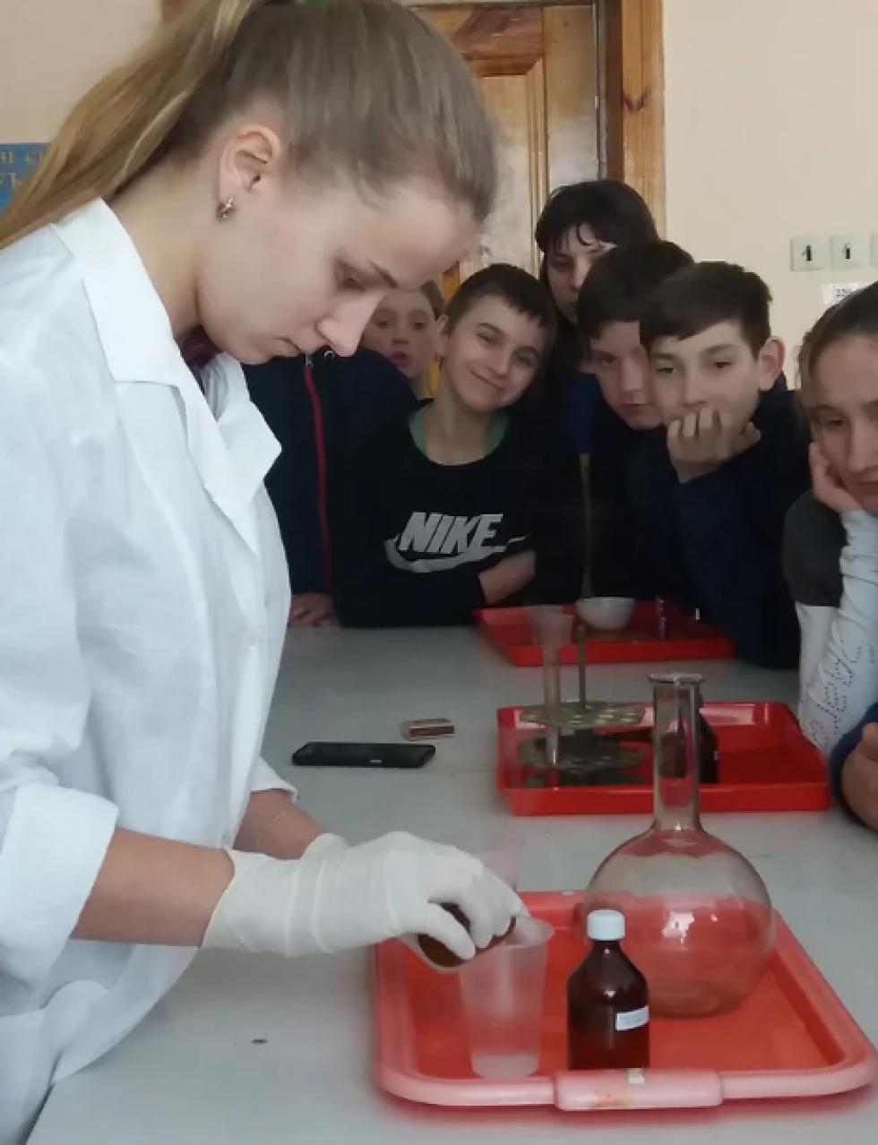 Позакласний захід «Цікава хімія»