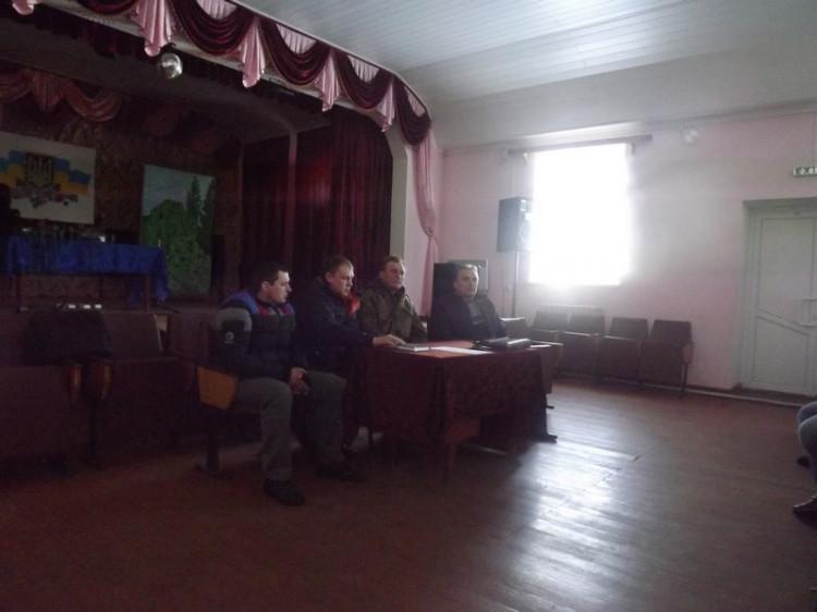 Учасники зібрання