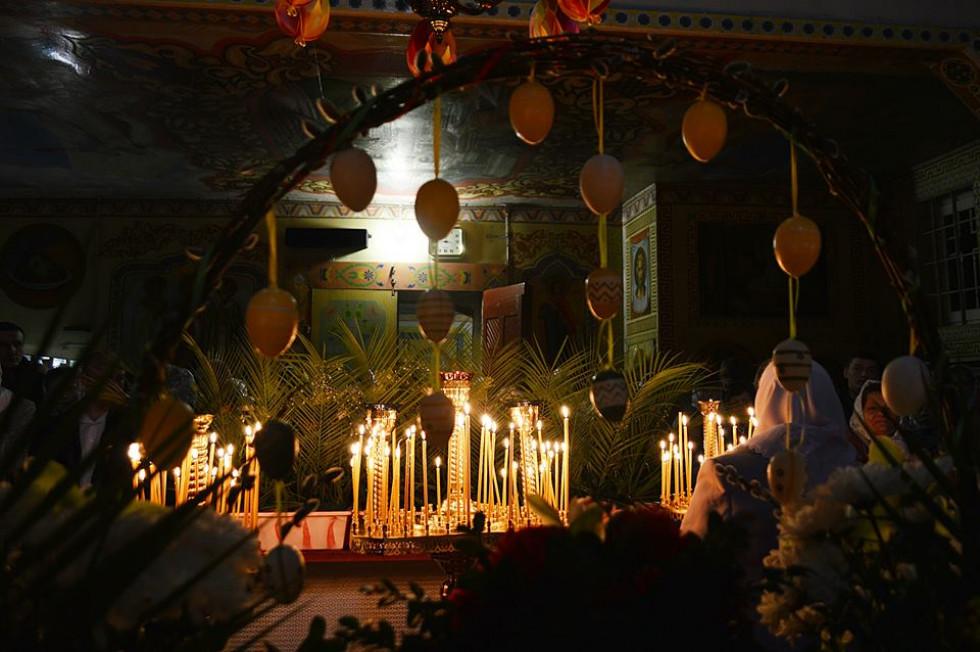 Великоднє богослужіння у Заболотті
