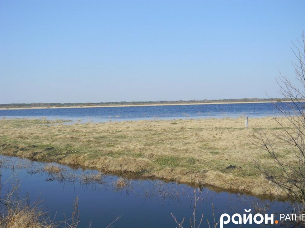 Так розлилася річка Вижівка