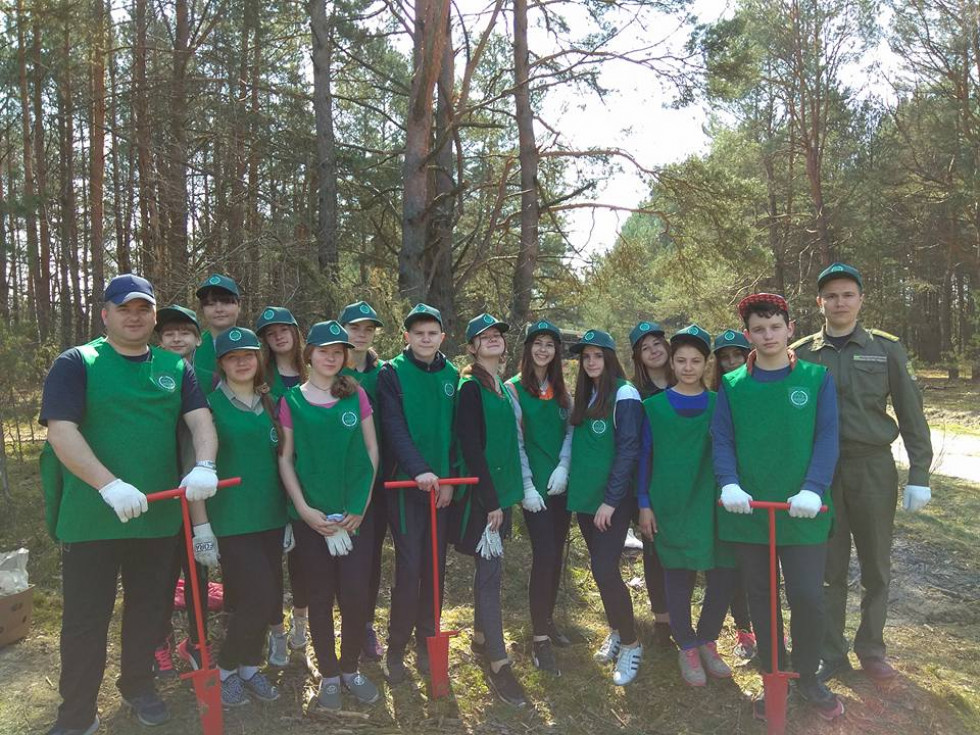 Учасники екологічної акції