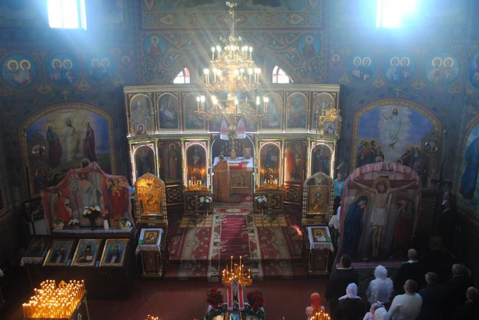 Провідна неділя у селі Гірники