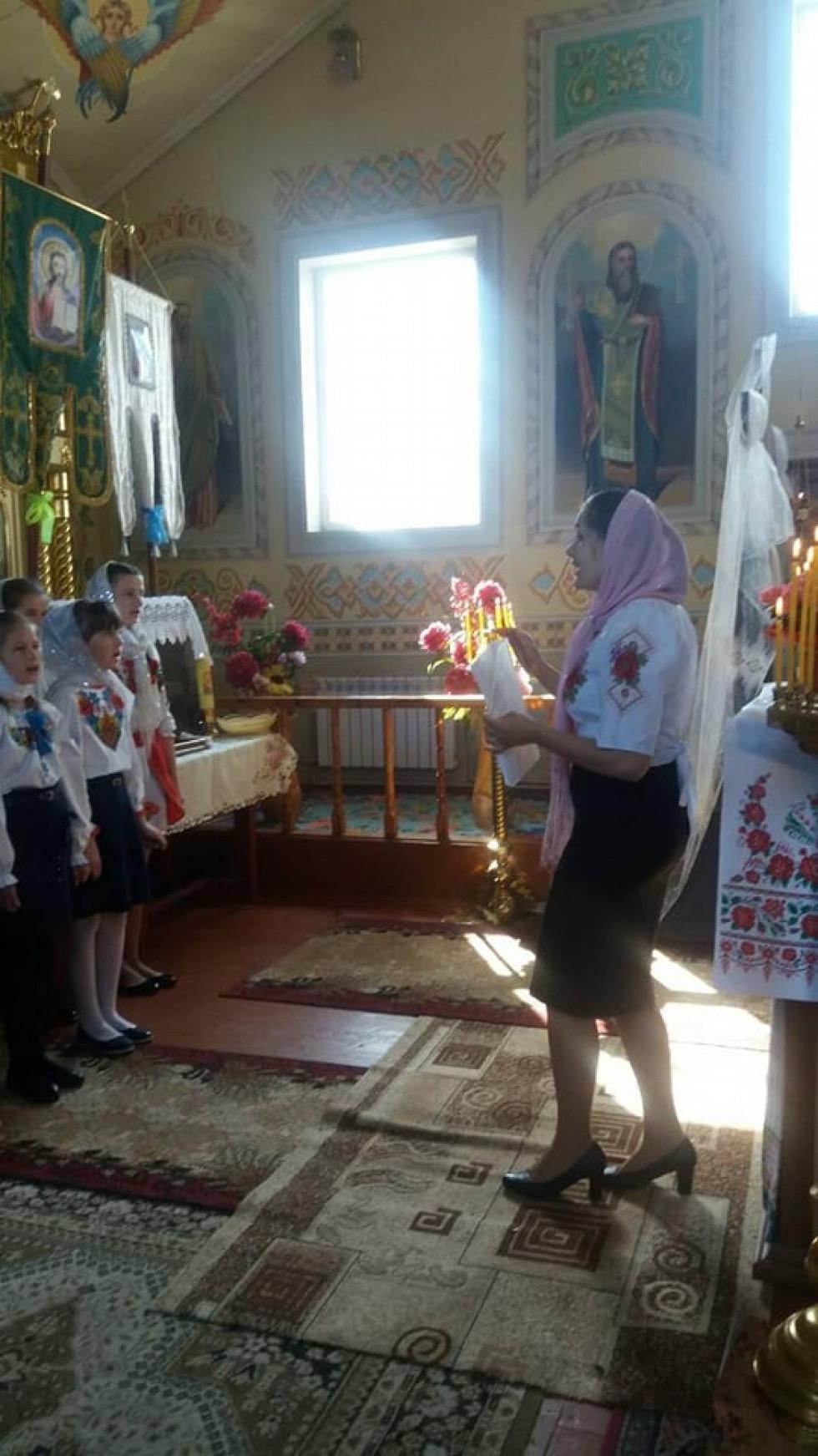 Керівниця церковного хору