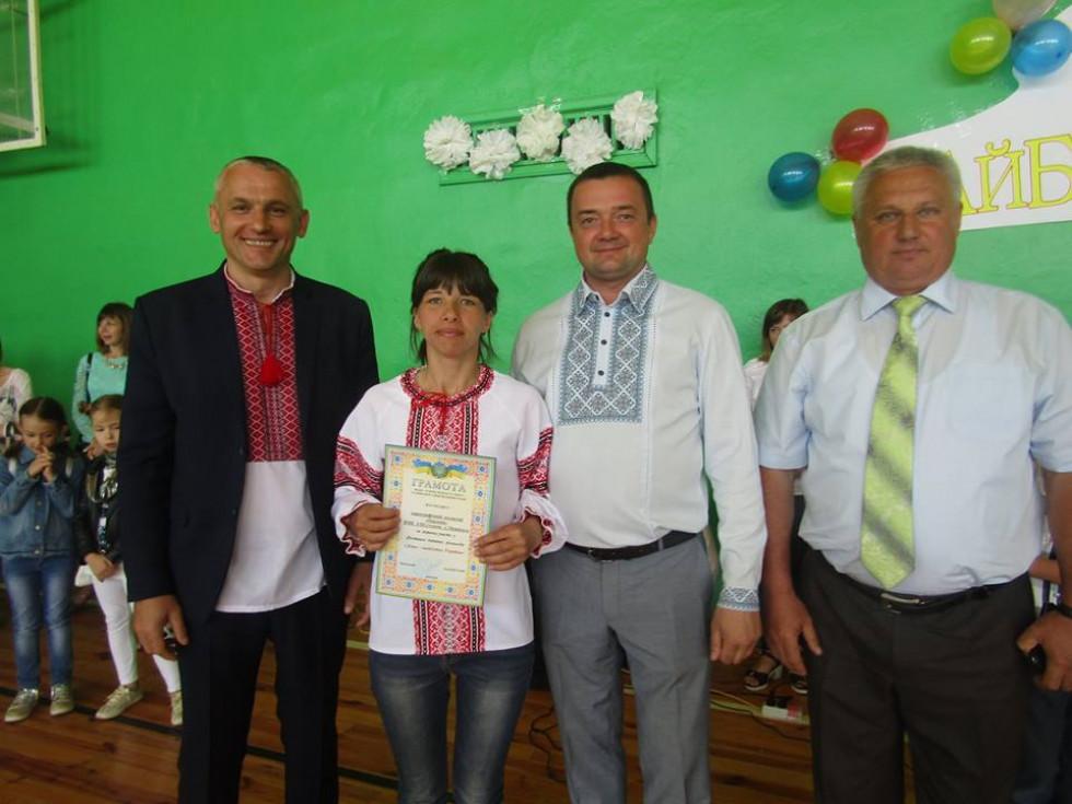 Нагородження керівників танцювальних гуртів