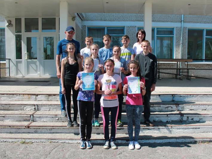 Команда гірницьких спортсменів