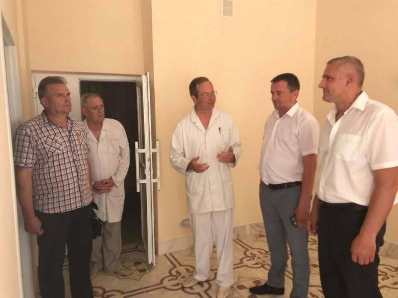 Керівники району у Ратнівській ЦРЛ