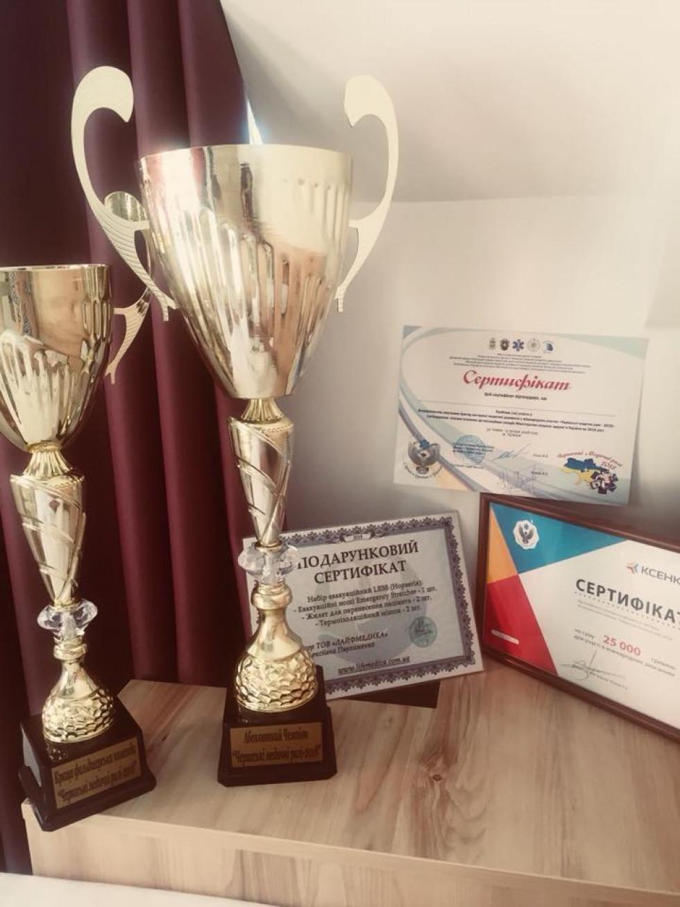 Нагороди переможців