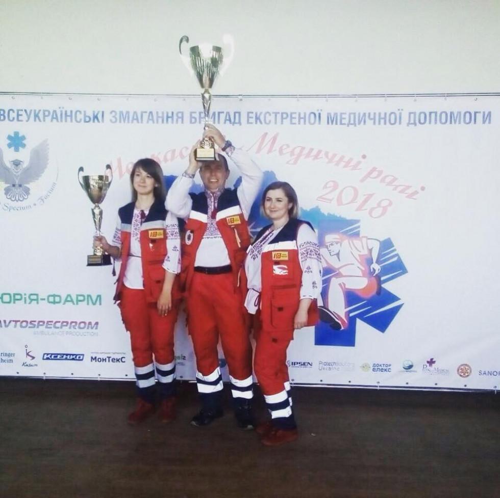 Переможці «Черкаських медичних ралі 2018»