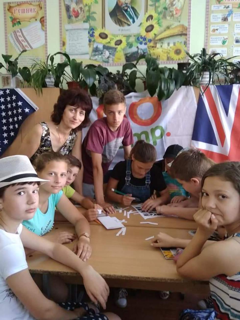 Мовний табір ратнівської школи №2