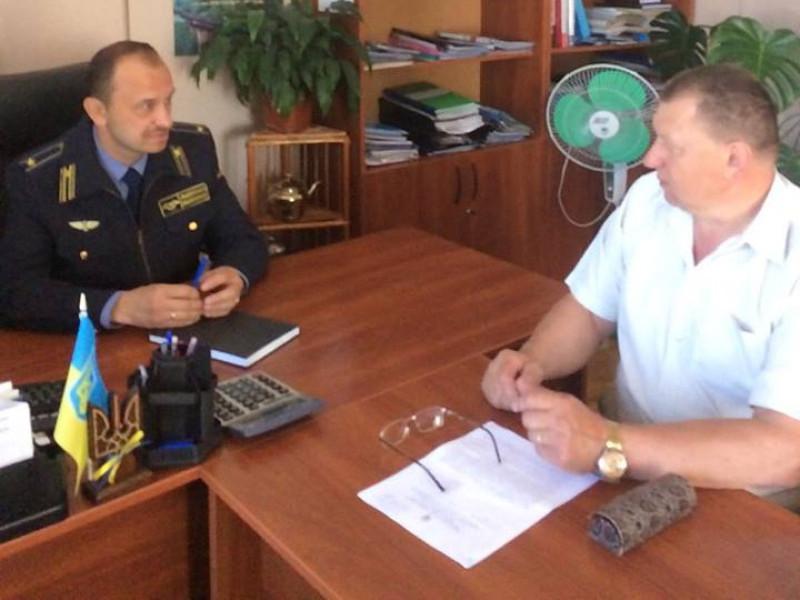 Робоча зустріч Івана Миронюка із Валерієм Бадзюком
