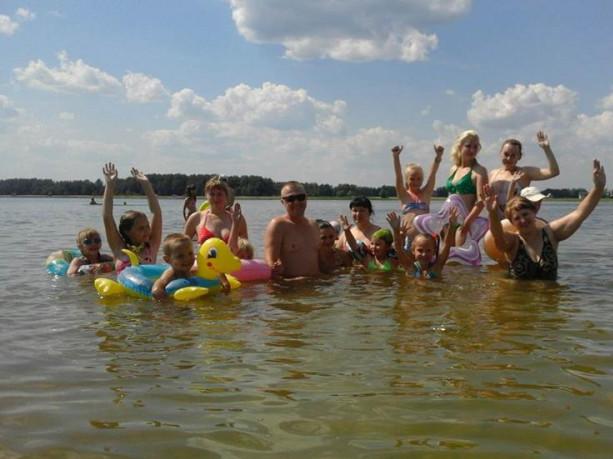 Відпочинок на озері Радожич