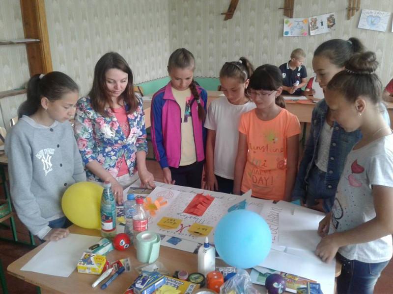 Гірницькиї школярів познайомили зі світом професій