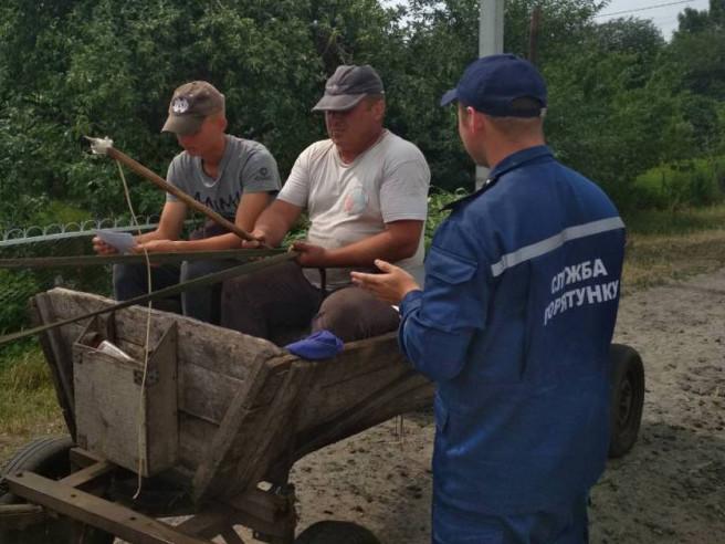 Ратнівські рятувальники провели профілактичний рейд у Гірниках