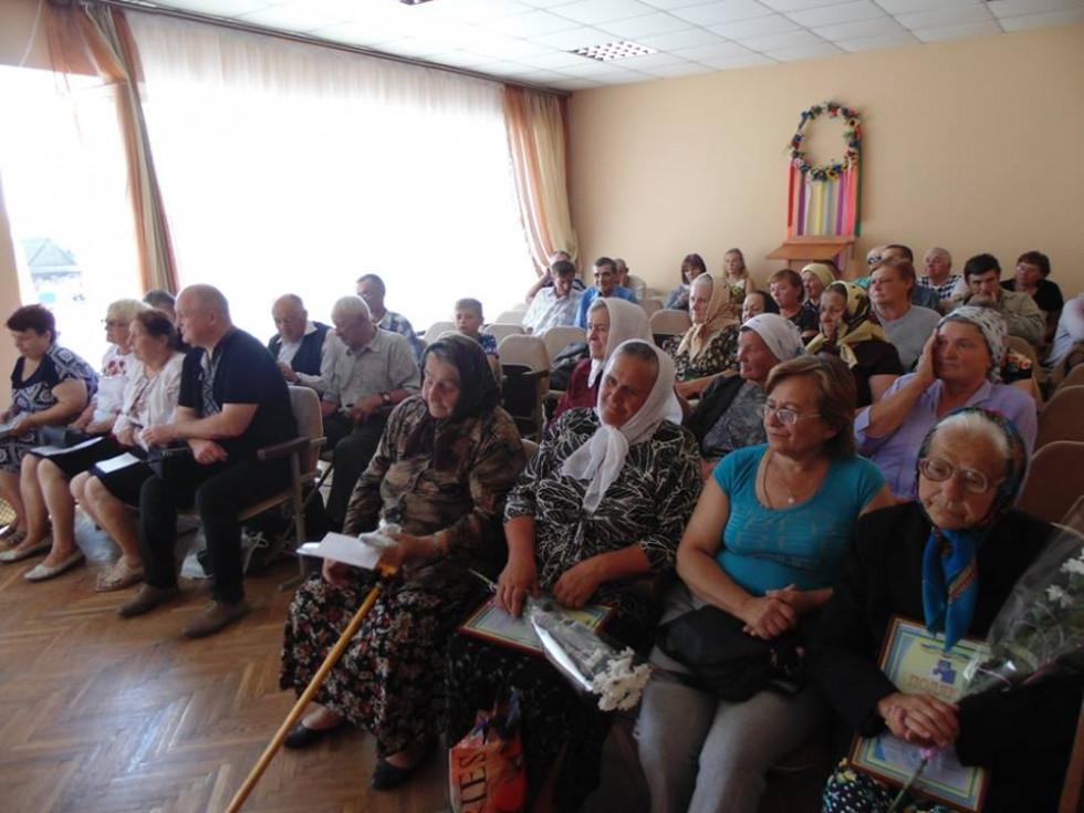 Члени Українського товариства сліпих