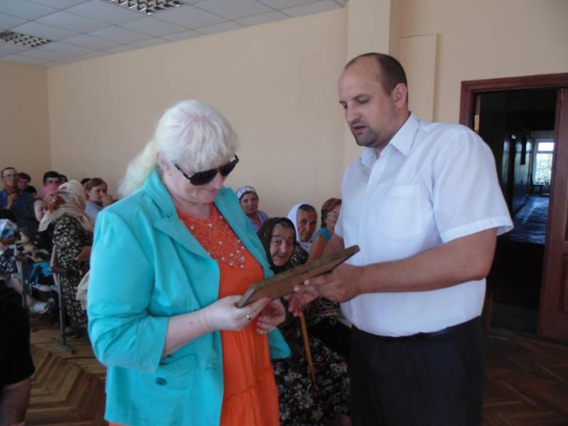 У Ратному привітали членів Українського товариства сліпих