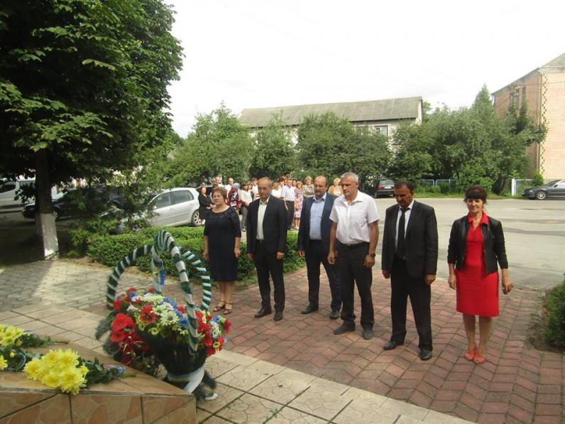 Вшанування пам'яті жертв Другої світової війни