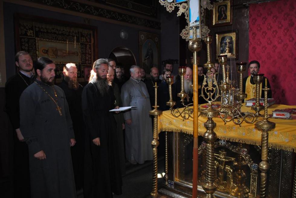 Під час молитви