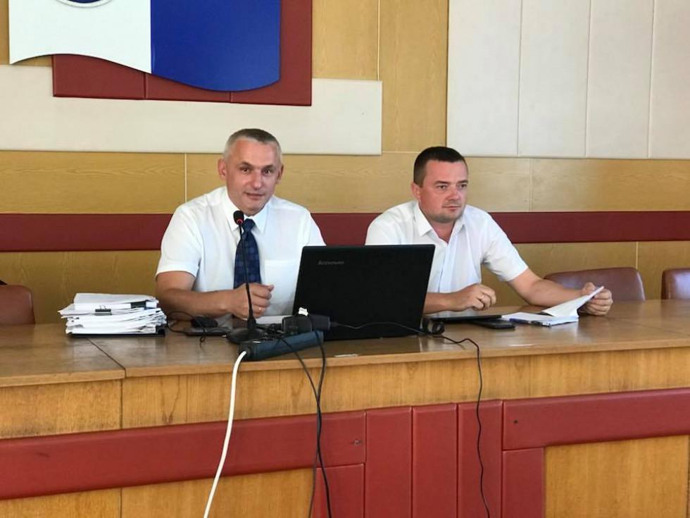Михайло Макарук та Андрій Харлампович