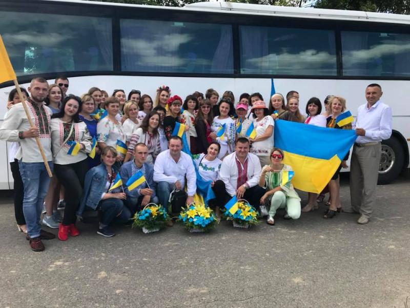 Ратнівська делегація