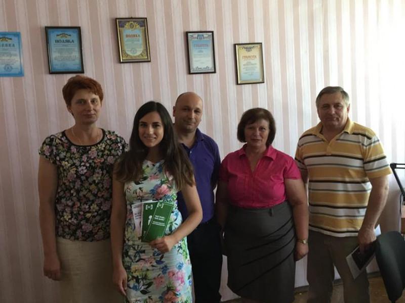 У Ратному соціальні служби поспілкувалися із сім'ями вимушених переселенців