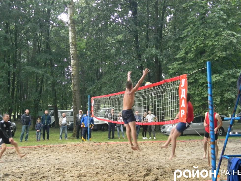 Гра у волейбол