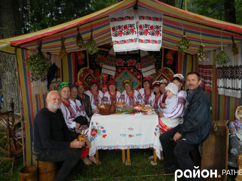 Колектив села Замшани