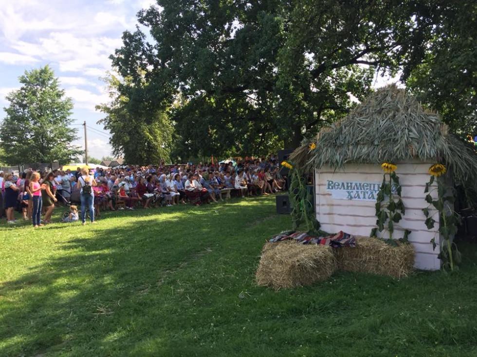 Чимало людей зібралося відсвяткувати День села