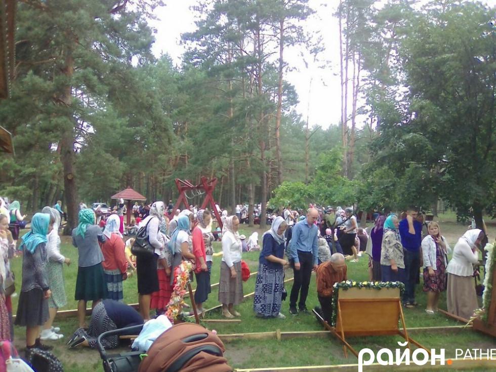 Перепочинок на «Козацькій горі»