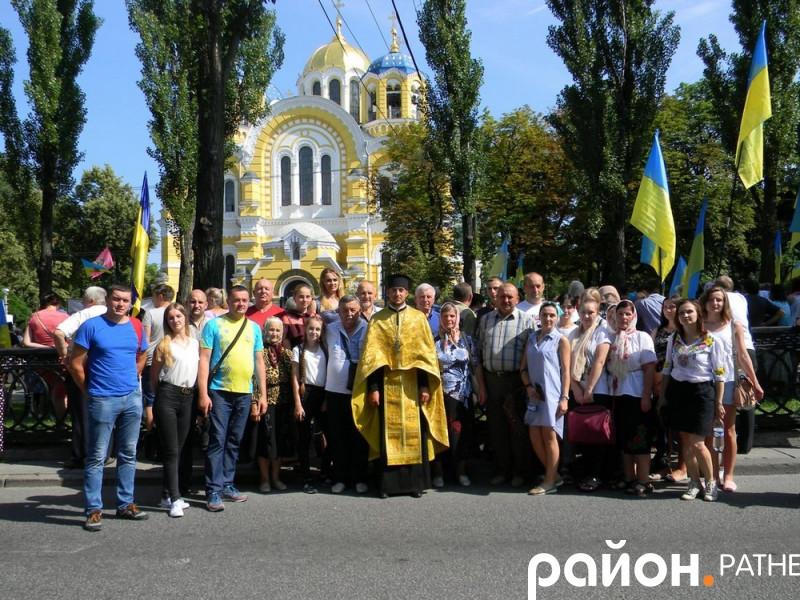 У Києві ратнівчани молилися за Єдину помісну церкву