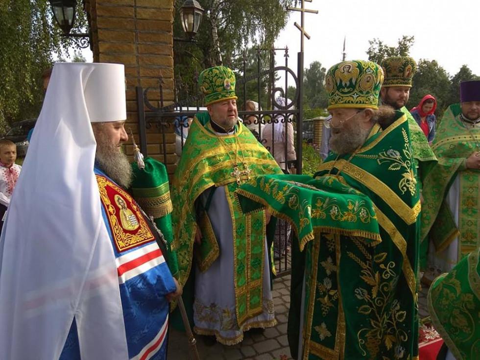Зустріч із митрополитом Володимиром