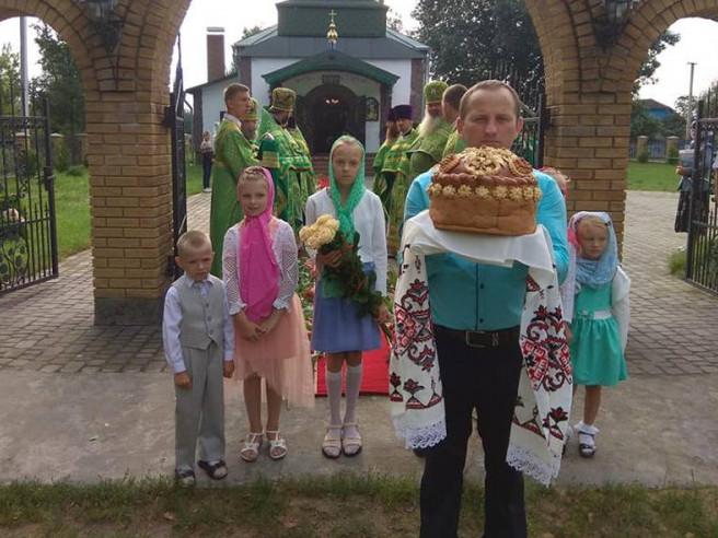 У Шменьках відзначили храмове свято