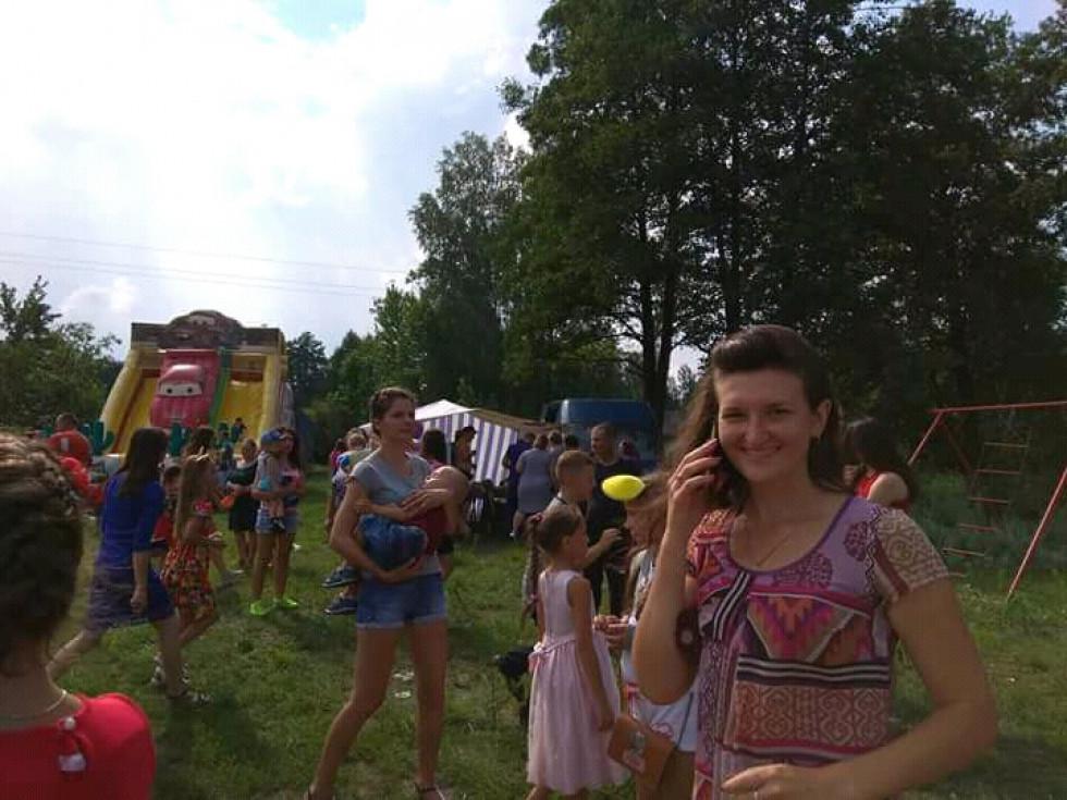 На святкуванні Дня села