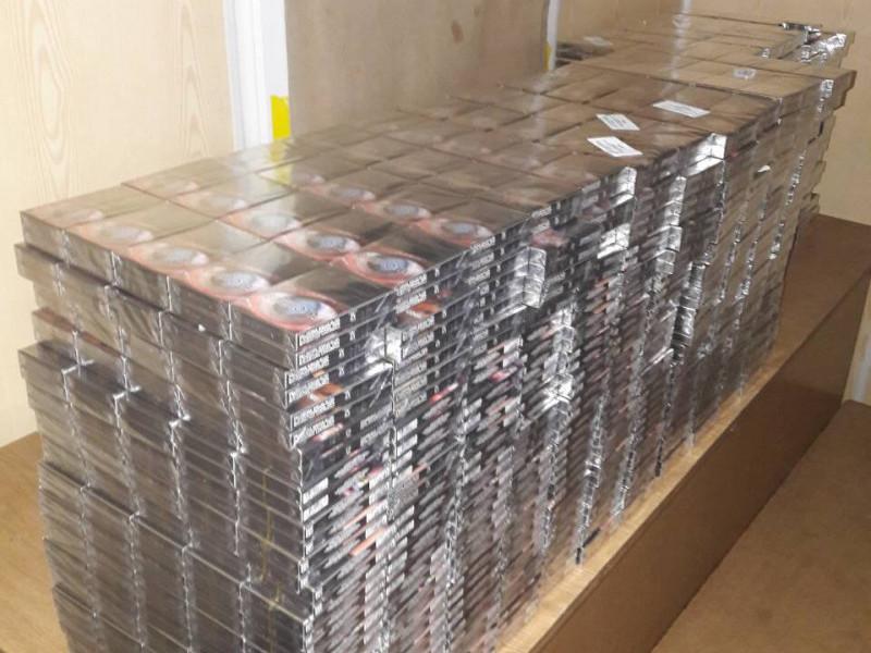 У Домановому прикордонники вилучили більше п'яти тисяч пачок сигарет