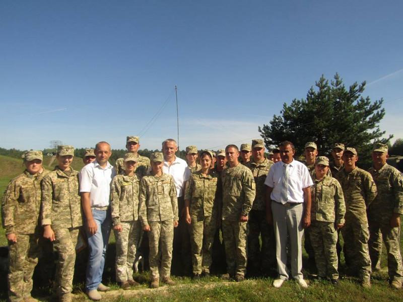 Військовослужбовців Повітряних Сил Ратнівщини привітали зпрофесійним святом