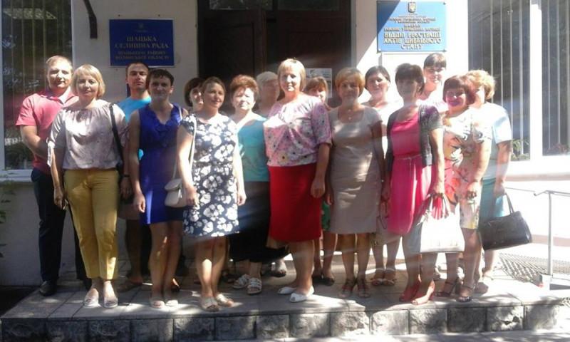 Ратнівські секретарі ділилися досвідом роботи із шацькими колегами