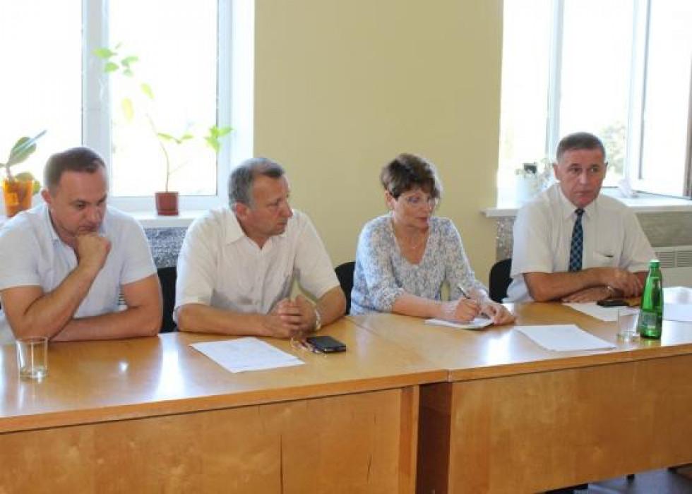 Учасники зустрічі