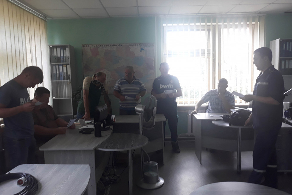 Із працівниками сількогосподарського товариства провели інструктаж