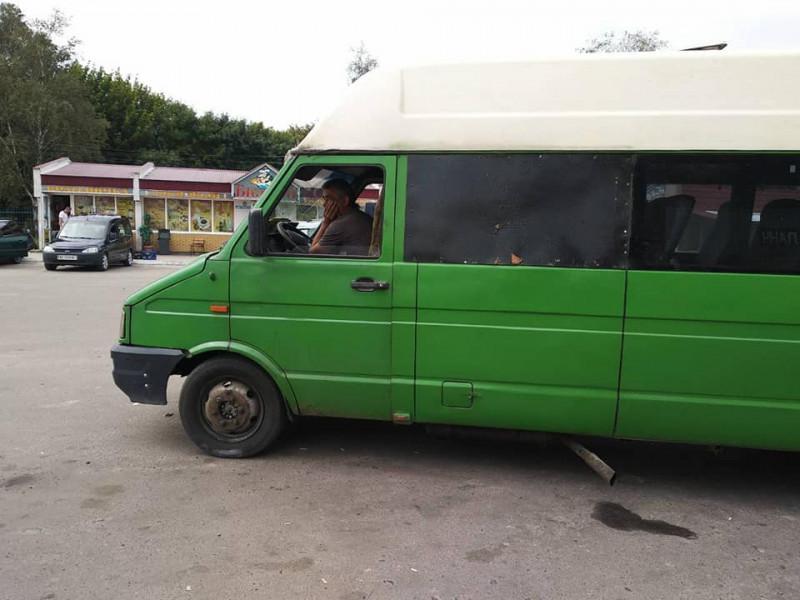 Міжміський транспорт Ратнівського району здійснює перевезення з порушенням технічного стану