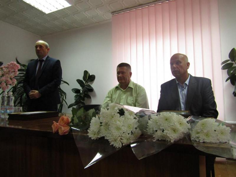Під час вітання у Ратнівському відділенні ПАТ «Волиньгаз»